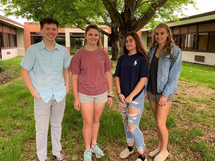 NB High School Students of the Month for May 2019